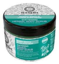 Парфюмерия и Козметика Скраб за тяло - Natura Siberica Iceveda Nordic Birch&Hymalayan Neem Softening Herbal Body Scrub