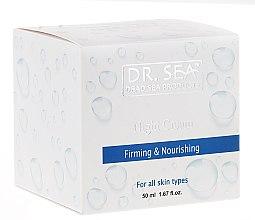 Парфюмерия и Козметика Укрепващ и подхранващ нощен крем - Dr. Sea Firming & Nourishing Night Cream