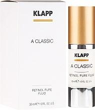 Парфюми, Парфюмерия, козметика Емулсия за лице с ретинол - Klapp A Classic Retinol Pure Serum