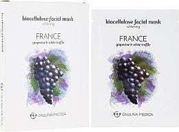 """Парфюмерия и Козметика Памучна маска за лице """"Франция"""" - Calluna Medica France Whitening Biocellulose Facial Mask"""