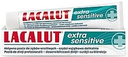 """Парфюмерия и Козметика Паста за зъби """"Extra Sensitive"""" - Lacalut"""