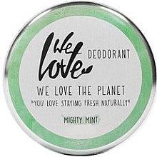 "Парфюмерия и Козметика Натурален кремообразен дезодорант ""Мента"" - We Love The Planet Mighty Mint Cream Deodorant"
