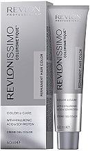 Парфюми, Парфюмерия, козметика Крем гел за боя за коса - Revlon Professional Revlonissimo Color & Care Technology XL150