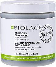 Парфюми, Парфюмерия, козметика Маска за тънка и отслабена коса - Matrix Biolage R.A.W. Re-Bodify Clay Mask