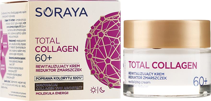 Възстановяващ дневен и нощен крем против бръчки 60+ - Soraya Total Collagen 60+