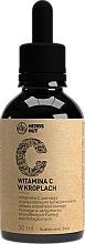 Парфюмерия и Козметика Витамин С в каплях - Noble Health Health Line Vitamin C