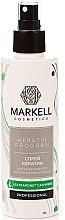 """Парфюмерия и Козметика Спрей за коса """"Интензивно възстановяване"""" - Markell Cosmetics Keratin Program"""