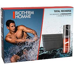 Парфюмерия и Козметика Комплект - Biotherm Set Homme Total Recharge (gel/50ml + case)