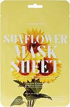 Парфюмерия и Козметика Маска за лице с екстракт от слънчоглед - Kocostar Slice Mask Sheet Sunflower