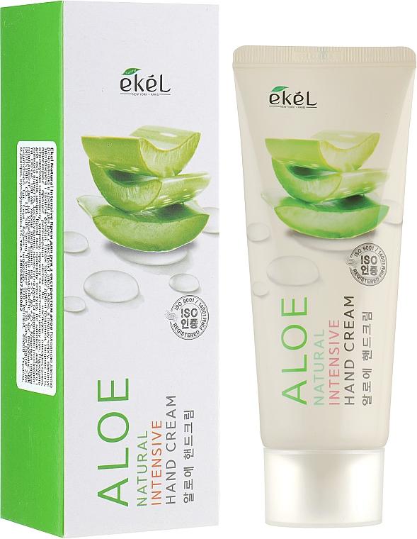 Крем за ръце с екстракт от алое - Ekel Natural Intensive Aloe Hand Cream