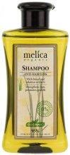 Парфюмерия и Козметика Подхранващ шампоан против косопад - Melica Organic Anti-hair Loss Shampoo
