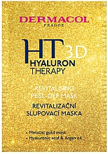 Парфюмерия и Козметика Възстановяваща пилинг маска за лице - Dermacol Hyaluron Therapy 3D Revitalising Peel-off Mask