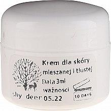 Парфюмерия и Козметика Крем за комбинирана и мазна кожа - Shy Deer Natural Cream (мостра)