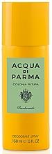Парфюмерия и Козметика Acqua Di Parma Colonia Futura - Спрей дезодорант