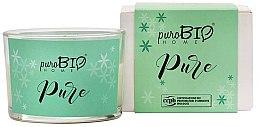 Парфюмерия и Козметика Органична свещ - PuroBio Home Organic Pure