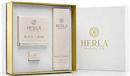 Парфюми, Парфюмерия, козметика Компелкт за лице - Herla Black Rose I (крем/50ml + крем/5ml + тонер/200ml)