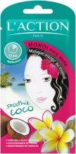 Парфюми, Парфюмерия, козметика Маска за лице с масло Моной - L`Action Paris Lifestyle Monoi Face Mask