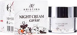 Парфюми, Парфюмерия, козметика Укрепващ нощен крем за лице с хайвер - Hristina Cosmetics Orient Caviar Night Cream