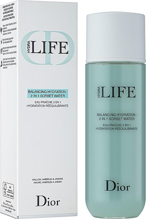 Хидратиращ лосион-сорбе за лице 2-в-1 - Dior Hydra Life Balancing Hydration 2-in-1 Sorbet Water — снимка N1