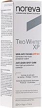 Парфюмерия и Козметика Крем против пигментни петна - Noreva Laboratoires Trio White XP Anti-Dark Spot Care SPF 50+