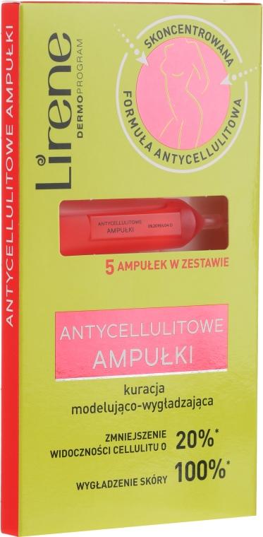 Антицелулитни ампули за тяло - Lirene