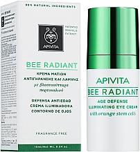 Околоочен крем - Apivita Bee Radiant Eye Cream — снимка N1