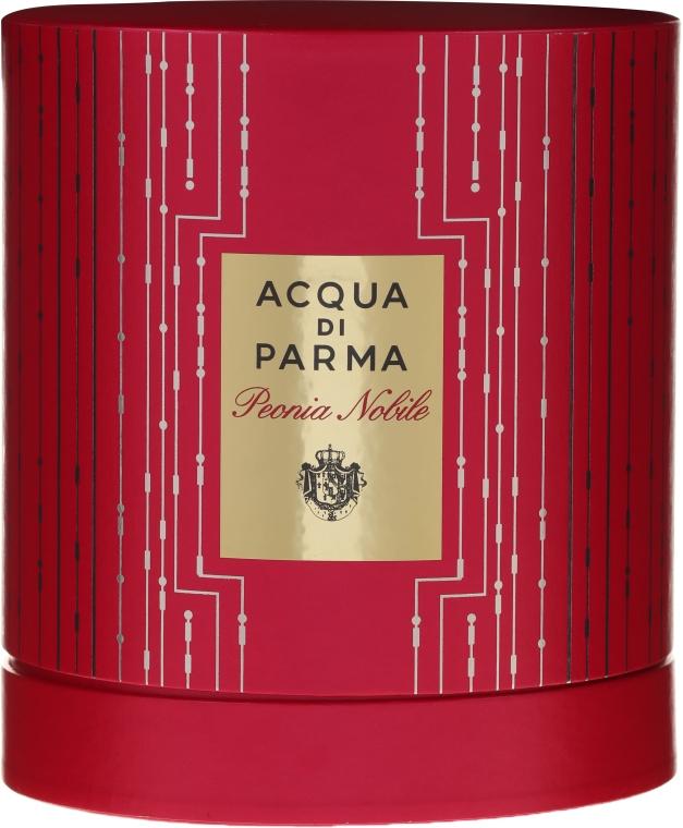 Acqua di Parma Peonia Nobile - Комплект (парф. вода/100ml + душ гел/75ml + крем за тяло/75ml) — снимка N1