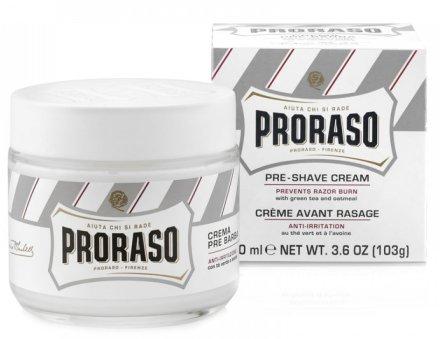 Крем преди бръснене, за чувствителна кожа - Proraso White Pre Shaving Cream — снимка N1