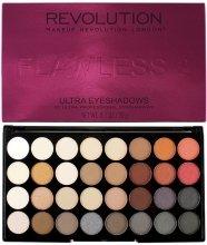 Парфюми, Парфюмерия, козметика Палитра сенки за очи, 32 цвята - Makeup Revolution Ultra 32 Shade Palette Flawless 2
