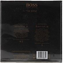 Hugo Boss The Scent - Комплект (тоал. вода/200ml + афтър. гел/75ml) — снимка N2