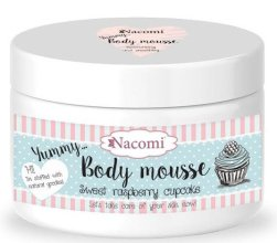 """Парфюми, Парфюмерия, козметика Мус за тяло """"Сладък малинов кекс"""" - Nacomi Body Mousse"""