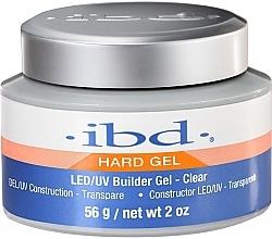 Парфюмерия и Козметика Конструиращ гел за нокти, прозрачен - IBD LED/UV Builder Clear Gel