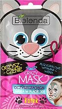 """Парфюми, Парфюмерия, козметика Памучна детокс-маска """"Котка"""" - Bielenda Crazy Mask 3D Cat"""