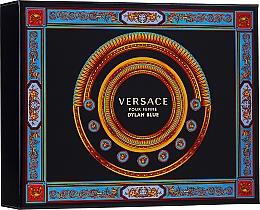 Парфюмерия и Козметика Versace Pour Femme Dylan Blue - Комплект (парф. вода/50ml + лосион за тяло/50ml + душ гел/50ml)