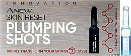 Парфюмерия и Козметика Серум на ампули за лице - Avon Anew Skin Reset Plumping Shots