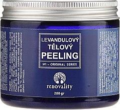 Парфюмерия и Козметика Солен пилинг за тяло с лавандула - Renovality Original Series Lavender Body Peeling
