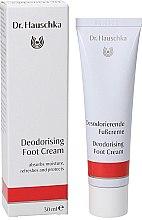 Парфюмерия и Козметика Дезодориращ крем за крака - Dr. Hauschka Deodorizing Foot Cream