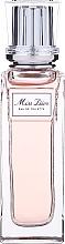 Парфюмерия и Козметика Dior Miss Dior Eau De Toilette Pearl Roller - Тоалетна вода