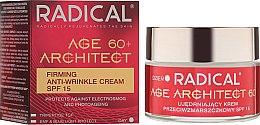 Парфюми, Парфюмерия, козметика Лифтинг крем за лице против бръчки 60+ SPF15 (дневен) - Farmona Radical Age Architect Firming Anti Wrinkle Cream
