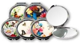 "Парфюми, Парфюмерия, козметика Компактно огледалце, ""Пеперуди"", 85451 - Top Choice"