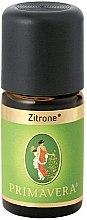 """Парфюмерия и Козметика Етерично масло """"Лимон"""" - Primavera Organic Lemon Essential Oil"""