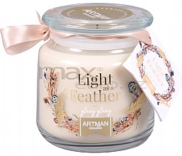Парфюмерия и Козметика Ароматна свещ - Artman Light As Feather