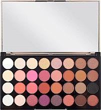Палитра сенки за очи, 32 цвята - Makeup Revolution Ultra 32 Shade Palette Flawless 4 — снимка N2