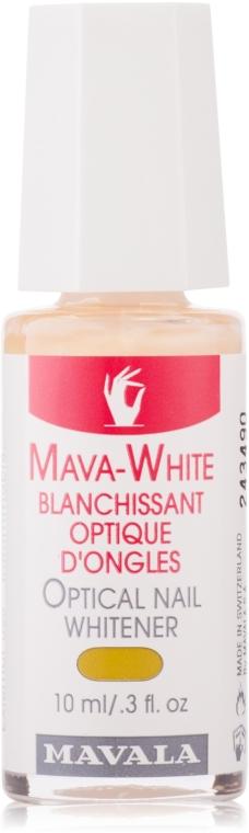 Оптичено, избелващо средство за нокти - Mavala Mava-White Optical Nail Whitener — снимка N1