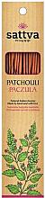"""Парфюми, Парфюмерия, козметика Ароматни пръчици """"Пачули"""" - Sattva Patchouli"""