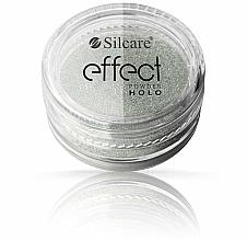 Парфюмерия и Козметика Пудра за нокти - Silcare Effect Powder Holo