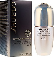 Парфюми, Парфюмерия, козметика Емулсия за комплексна защита за кожата на лицето - Shiseido Future Solution LX Total Protective Emulsion