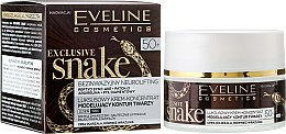 Парфюми, Парфюмерия, козметика Крем за лице - Eveline Cosmetics Exclusive Snake 50+