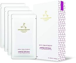 Парфюмерия и Козметика Памучна маска за лице против стареене - Aromatherapy Associates Skin Treatment Hydrosol Sheet Mask