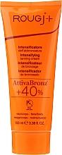 Парфюмерия и Козметика Крем за тяло за интензивно потъмняване - Rougj+ Intensifying Tanning Cream